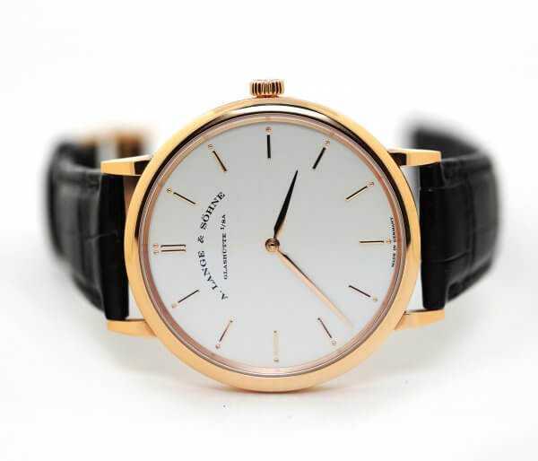 A. Lange & Sohne Saxonia Thin Manual Wind Watch