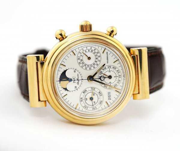 IWC Da Vinci Tourbillon Perpetual Calendar Watch