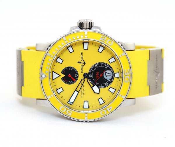Ulysse Nardin Maxi Marine Diver Yellow Watch
