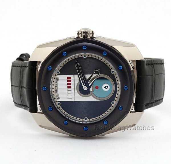 De Bethune DB 20 GMT Beat Quantieme Watch