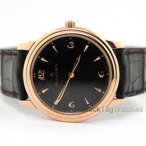 Blancpain Villeret Jubilee Ultra Slim Limited Edition Watch