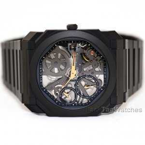 Bulgari Octo Finissimo Extra Thin Black Watch