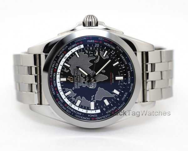 Breitling Galactic Unitime World TIme Watch