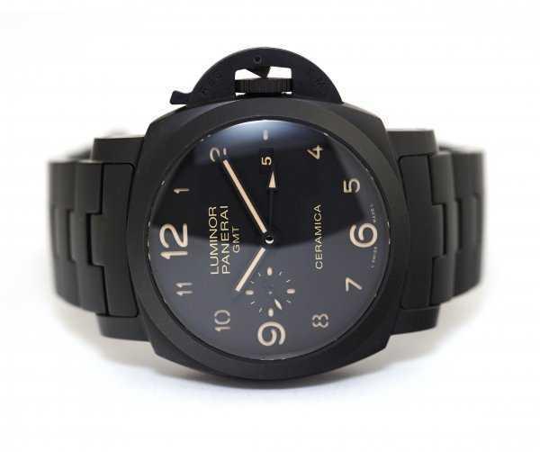 Panerai Luminor 1950 Tuttonero GMT 44mm Watch