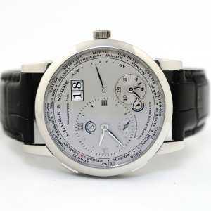 A. Lange & Sohne Lange 1 Time Zone 41.9mm Watch