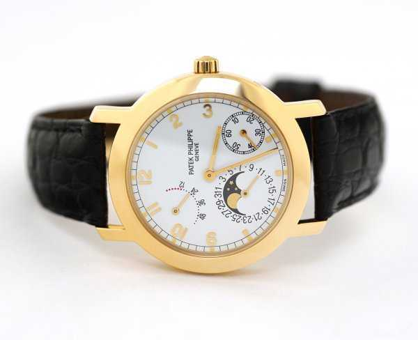 Patek Philippe Complications Moonphase Power Reserve Watch