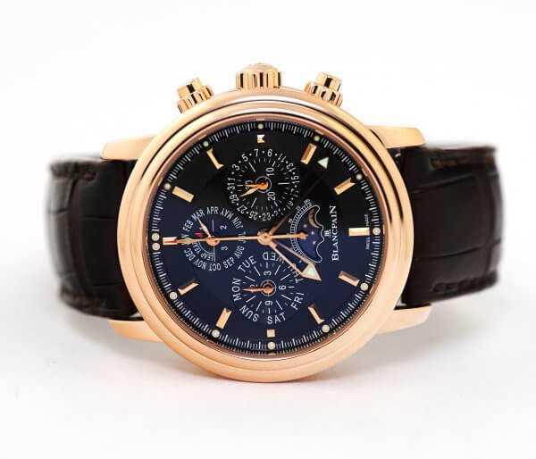 Blancpain Leman Perpetual Calendar Flyback Chronograph Watch