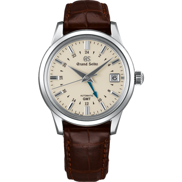 Grand Seiko Elegance Collection GMT Ivory Dial Watch