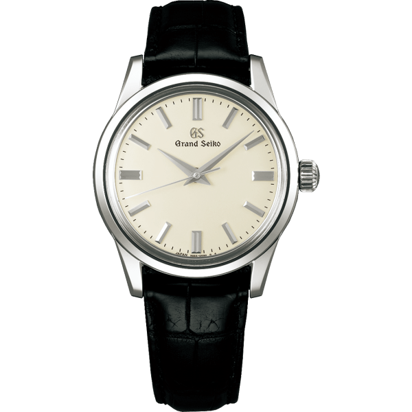 Grand Seiko Elegance Collection Manual 37mm Cream Dial Watch