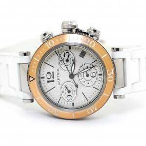 Cartier Pasha Seatimer Chronograph Watch