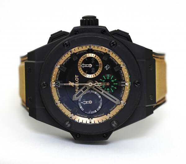 Hublot King Power Usain Bolt Chronograph Watch