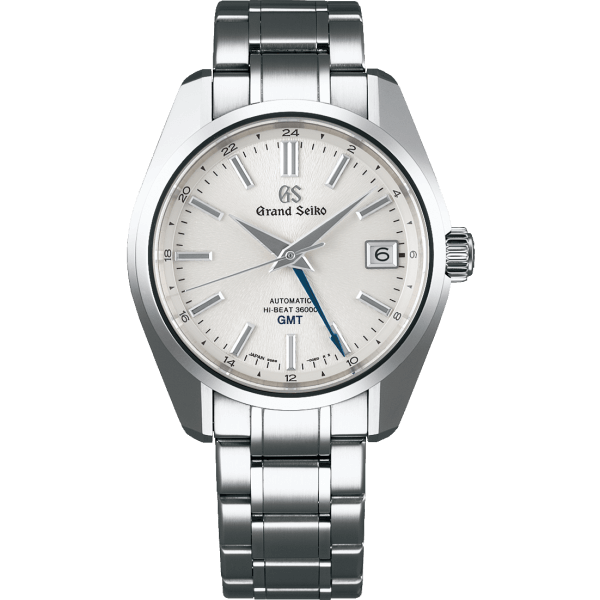 Grand Seiko Elegance Collection GMT Silver Dial Watch