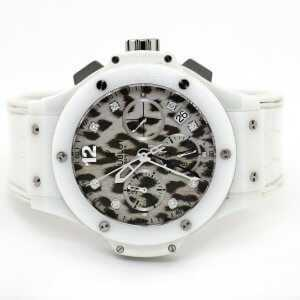 Hublot Big Bang Chronograph Snow Leopard Watch