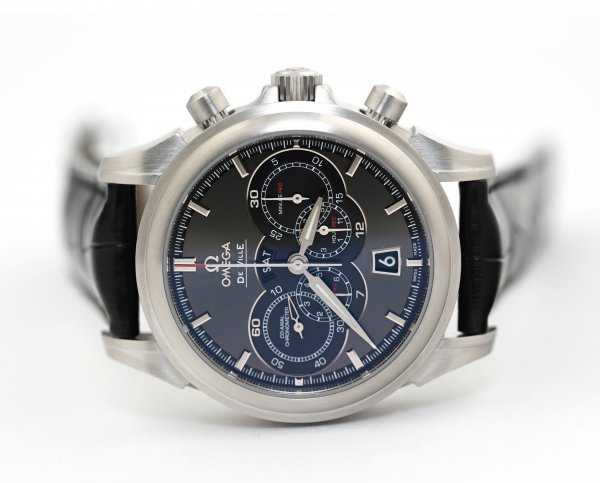 Omega De Ville Chronoscope Co-Axial 4-Counters Chronograph Watch