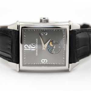 Girard Perregaux Vintage 1945 Moon Phase Date Platinum Watch