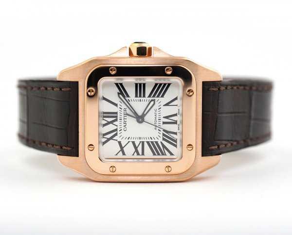 Cartier Santos 100 Midsize Watch