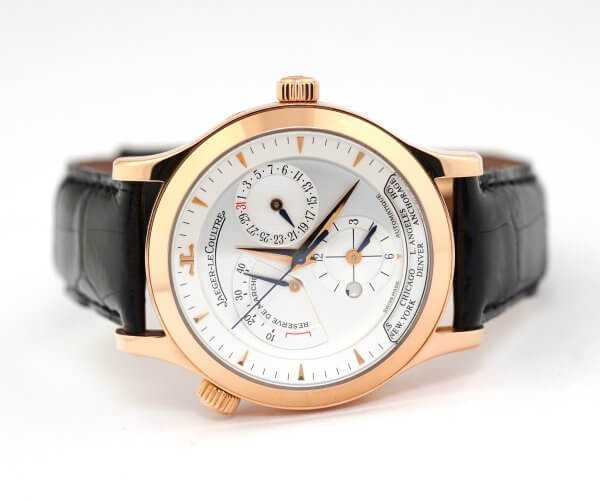 Jaeger-LeCoultre Master Control Geographic Wristwatch