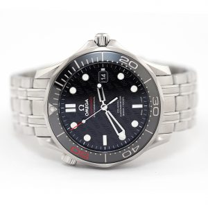 Omega Seamster Diver 300M Co-Axial Master Chronometer 50th Anniversary James Bond Limited Edition Watch