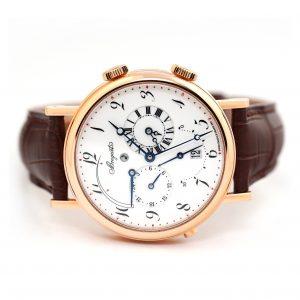 Breguet Classique Alarm Reveil du Tsar Ceramic Dial Watch