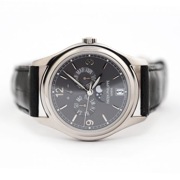 Patek Philippe Complications Annual Calendar Moon Phase Watch