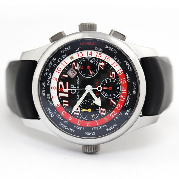 Girard Perregaux Ferrari World Time ww.tc Chronograph Watch