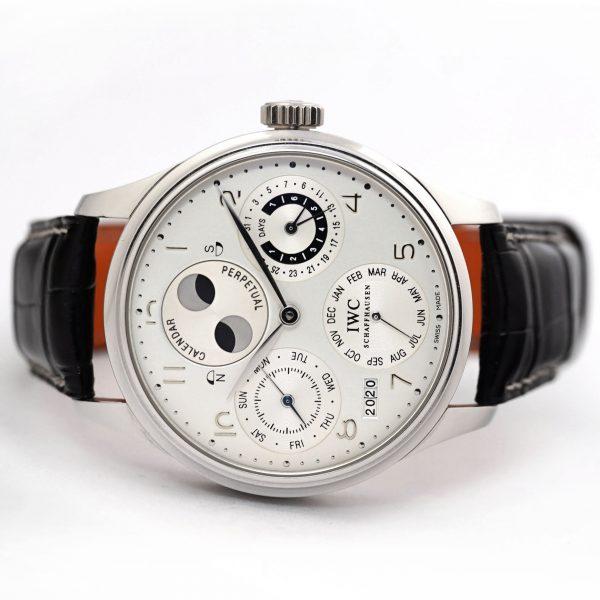 IWC Portuguese Perpetual Calendar Platinum Watch