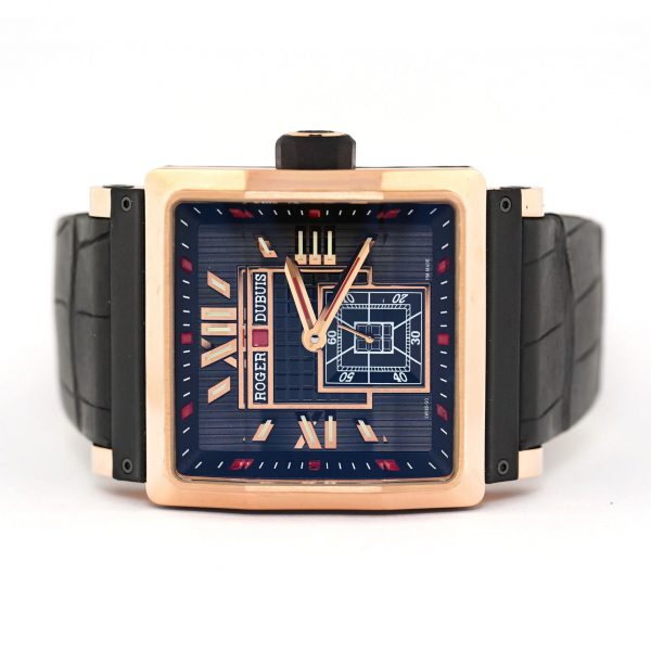 Roger Dubuis King Square Rose Gold Watch