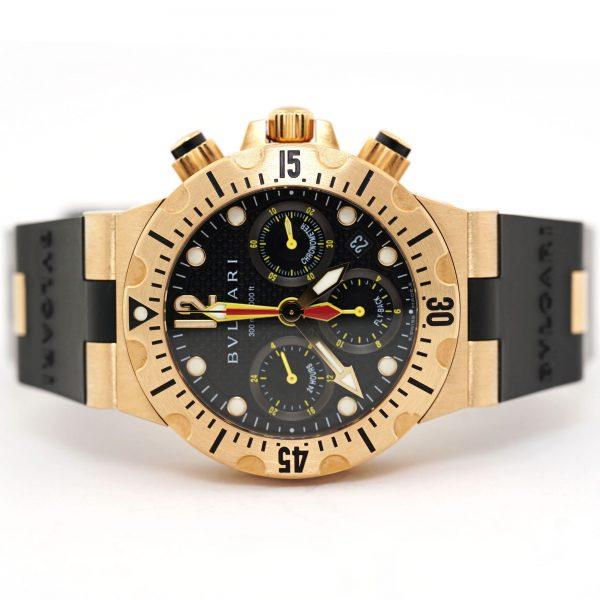Bulgari Diagono Diver Scuba Flyback Chronograph Watch