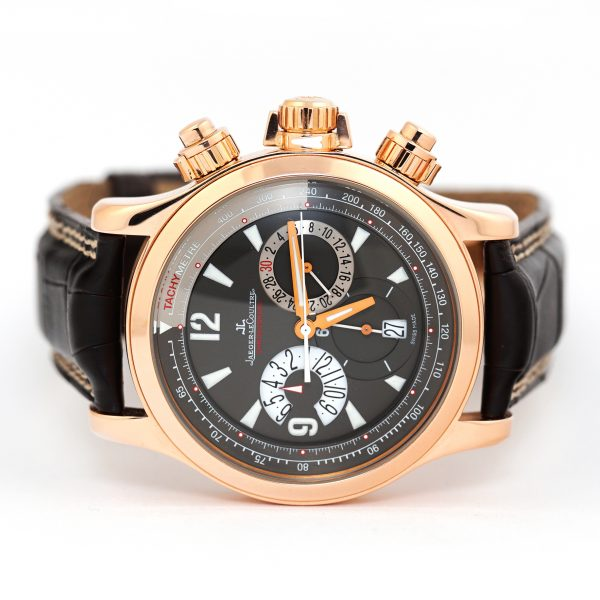 Jaeger LeCoultre Master Compressor Chronograph Rose Gold Watch