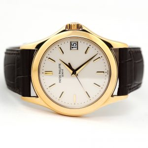 Patek Philippe Calatrava 5107J Yellow Gold Watch