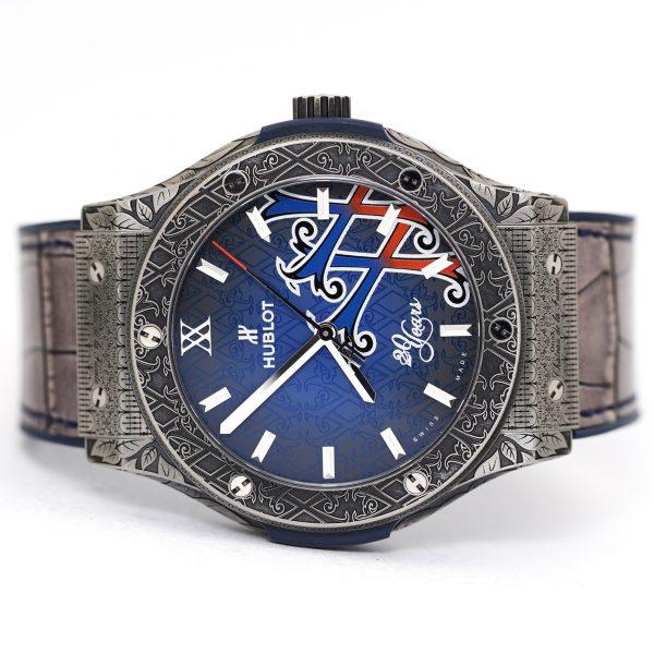 Hublot Classic Fusion Fuente 20th Anniversary Opus X Watch