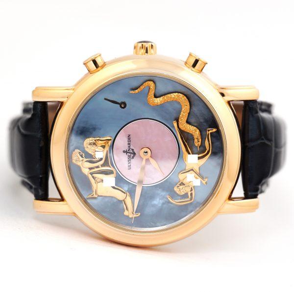 Ulysse Nardin San Marco Hourstriker Erotic Piece Unique Watch