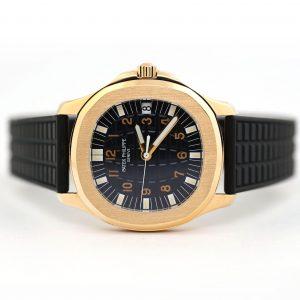 Patek Philippe Aquanaut Yellow Gold Watch