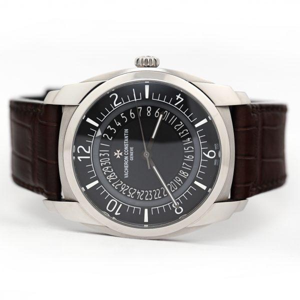 Vacheron Constantin Quai De l'Ile Automatic Black Dial Watch