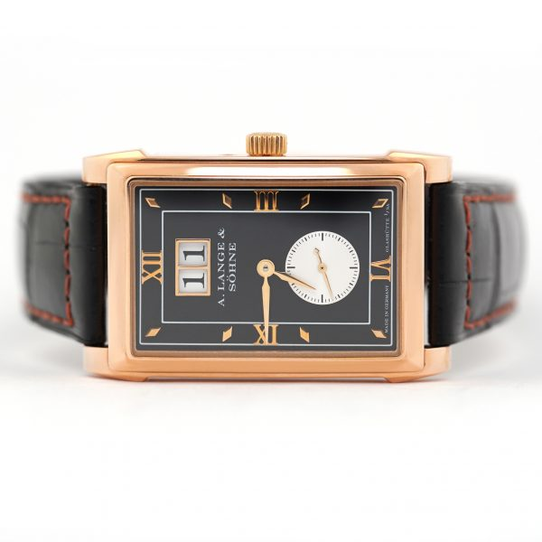 A. Lange & Sohne Cabaret Black Dial Watch