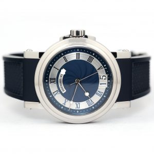 Breguet Marine Automatic Big Date Blue Dial Watch