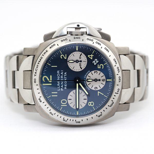 Panerai Luminor Chrono Regatta 2003 Titanium Steel Watch