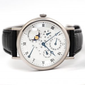 Breguet Classique Perpetual Calendar White Gold Watch