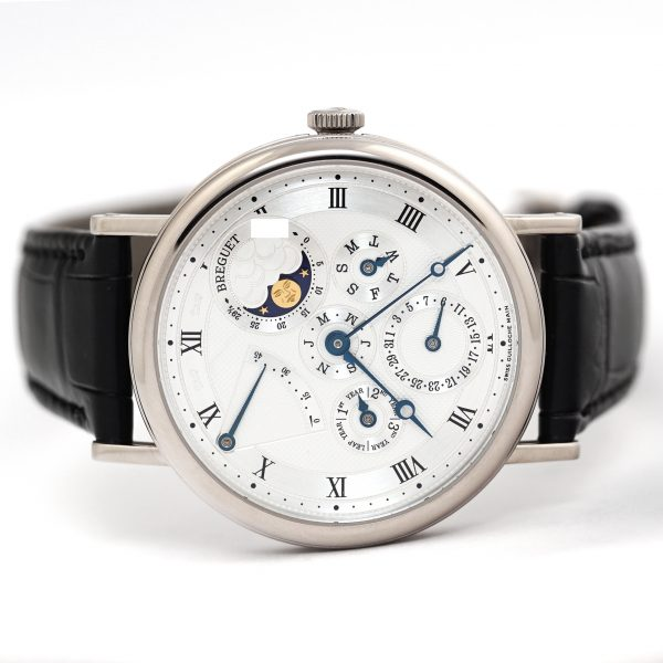 Breguet Classique Perpetual Calendar White Gold Watch