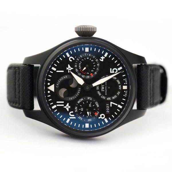 IWC Big Pilot's Watch Perpetual Calendar Top Gun Watch