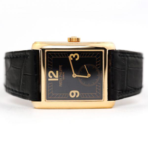 Patek Philippe Gondolo Black Dial Watch