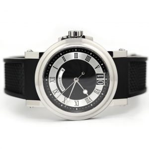 Breguet Marine Automatic Big Date Black Dial Watch