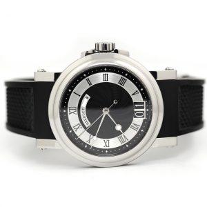 Breguet Marine Automatic Big Date Black Dial Watch
