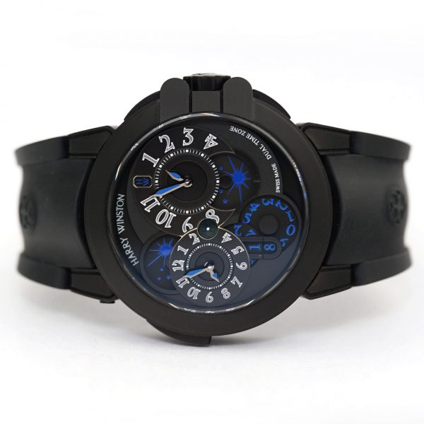 Harry Winston Ocean Dual Time Black Edition Watch