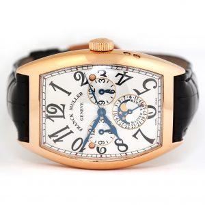 Franck Muller Cintree Curvex Master Banker Lunar Watch