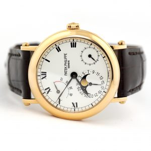 Patek Philippe Complications Power Reserve Officers Watch