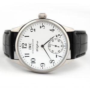 IWC Portugieser F.A. Jones Hand Wound Watch