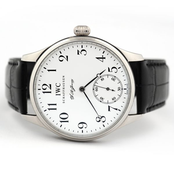 IWC Portugieser F.A. Jones Hand Wound Watch