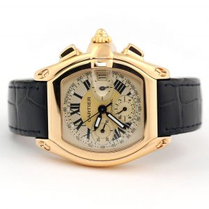 Cartier Roadster Chronograph XL Yellow Gold Watch