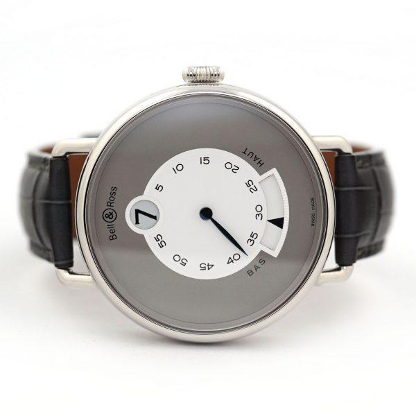 Bell & Ross WW1 Heure Sautante Platinum Watch